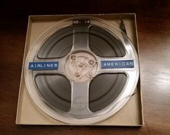 American Airlines Reel To Reel Tape
