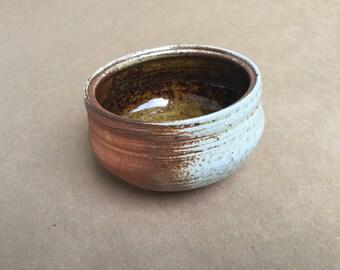 Amber Bowl Soda Fired - Stoneware