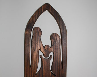 Wooden baptism/christening gift