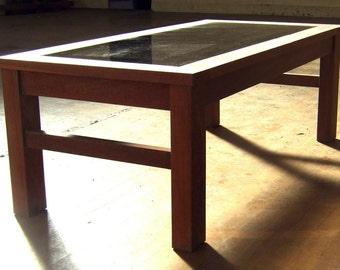 Coffee Table - Ekki suitable for inside or outside