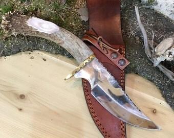 Large Antler Knife