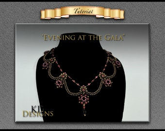 """Tutorial/pattern for """"Evening at the Gala"""""""