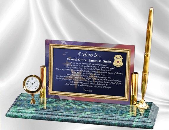 Personalized Law Enforcement Policeman Sheriff Deputy Gift