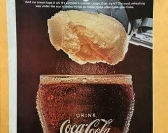 1960s Vintage Coca Cola Ad