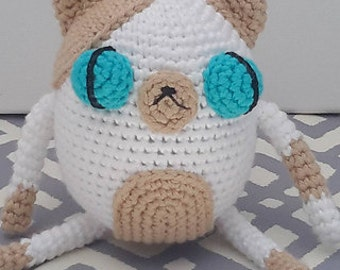 Cake The Cat Amigurumi : Items similar to Cake the Cat Inspired Hat: Adventure Time ...