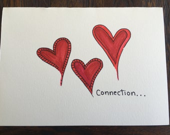 Love: 4 Handmade cards