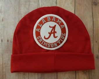 alabama hat-infant bama hat-alabama beanie-alabama hat for baby-bama hat for infant-bama skull cap-hat for bama baby-infant bama cap