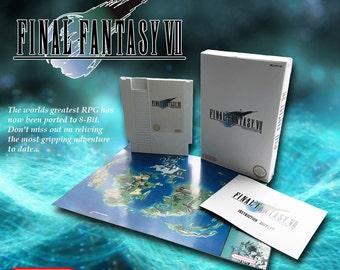 Final Fantasy Vii 7 CIB NES NINTENDO