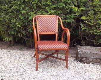 DISCOUNT garden two-tone outdoor Chair Chair bamboo rattan chair