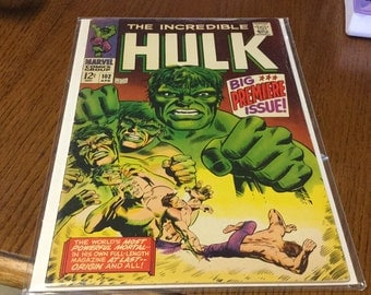 INCREDIBLE HULK issue 102
