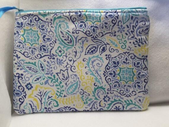 Mandala inspired purse, stylish purse, cosmetic bag,toiletry bag
