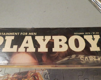 Vintage Playboy October 1975 Magazine