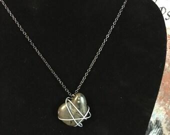 """18"""" Astroid Necklace (Black Nickel)"""