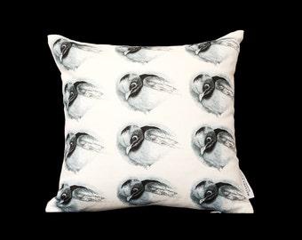 Robin Fine Linen Cushion