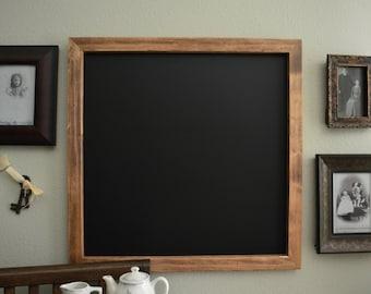 Chalkboard | Chalkboard Sign | Wedding Chalkboard | Large Chalkboard | Blank Chalkboard | Framed Chalkboard | Square Chalkboard