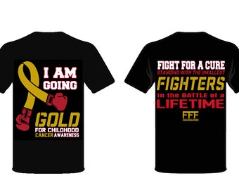 Go Gold Childhood Cancer Awareness T-shirt
