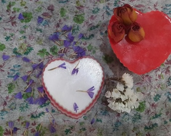 Natural Soap, Heart Soap, Handmade Soap