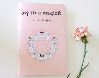 Myth & Magick witchcraft art zine
