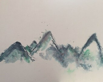 Blue Mountains (Print)