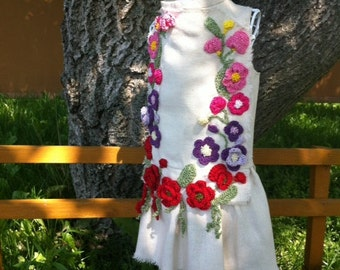 "Dress ""Floral wreath"""