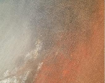 "Abstract Acrylic Painting Handmade ""Sunrise"""