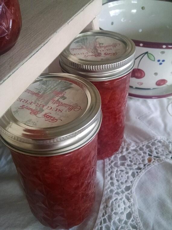 Kitty Pearl's Sugar Free Strawberry Lemonade Jam