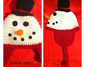 Baby/Toddler Snowman Hat