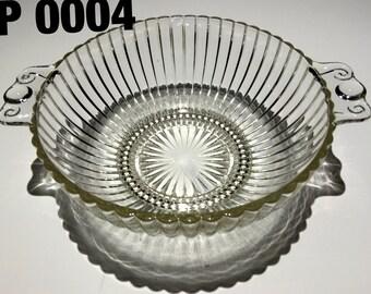 Vintage Glass Bowl - EP0004