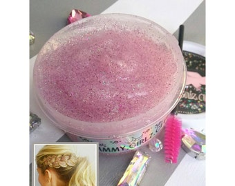 YUMBUBBLEYUM Diva Glitter Gel - Hair Glitter Styling Gel Pomade Temporary Color Body Glitter Highlights Jewelry Accessories Bling Sparkle