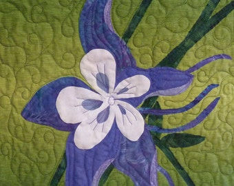 Columbine quilt pattern