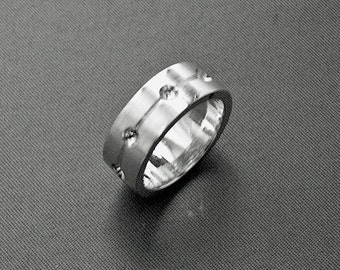 925 sterling silver friendship ring