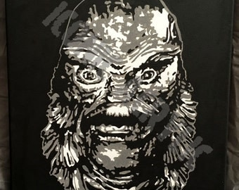 """15. """"The Gill Man"""" from Creature From The Black Lagoon-1954"""
