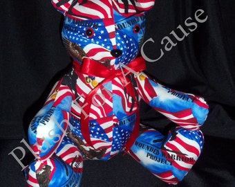 Wounded Warrior Project (Bear) ~ Stuffed with Love by Plush For A Cause