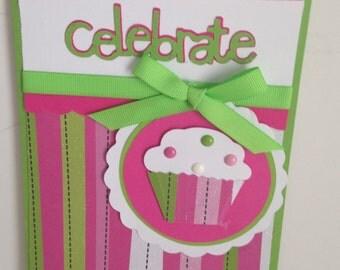 Cupcake Birthday Card
