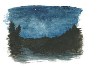 Night-time  Landscape