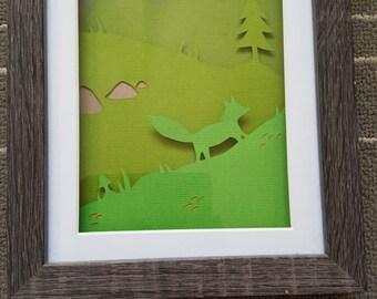 Paper cutting, Nature