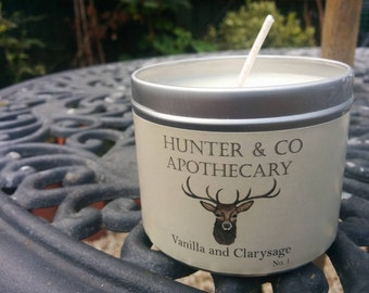 Vanilla and Clarysage Soywax Candle