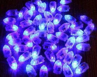 10 White LED Lamp Balloon Lights, Paper Lantern Lights,  Party Lights, Holiday Lights, Mini Party Lights, Battery Lights