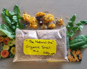 The Natural One Organic Mix 200g bag