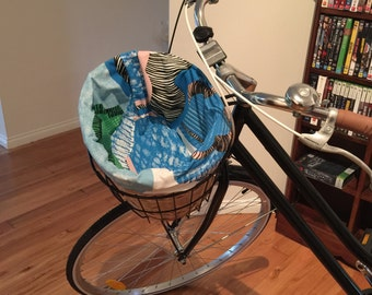 Bluebell Bicycle Basket Liner