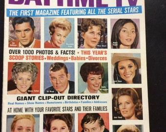 Who's Who in Daytime Tv~No. 2~ 1968~Ann Flood~Mary Stuart~Eileen Fulton