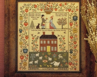 Needles and Pins by Theron Traditions Counted Cross Stitch Pattern/Chart