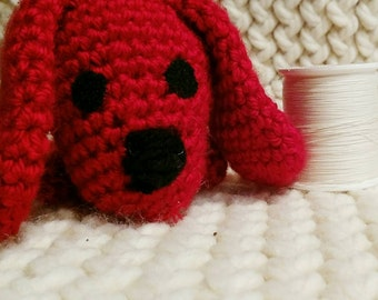 Crochet Dog Clifford Puppy Inspired