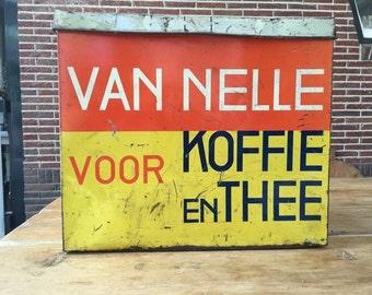 Vintage Dutch storage box
