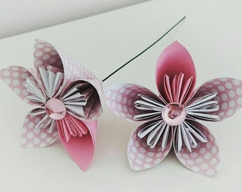 Individual Origami Paper Flowers