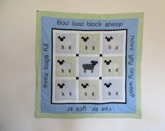 Baa Baa Black Sheep in Blue