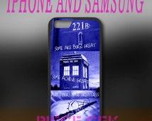 Sherlock Holmes Tardis Police Box Harry Potter iPhone 6/6s/6+/6s+/5/5s/5c/4/4s And Samsung Galaxy S7/S6/S5/S4/S3