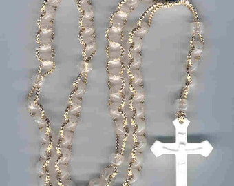 "Glow in the dark 5 decade ""pull"" rosary"