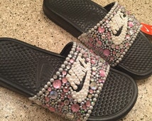 Unique Bling Nike Shoes Related Items Etsy