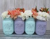 Painted Ball Mason Jars-F...